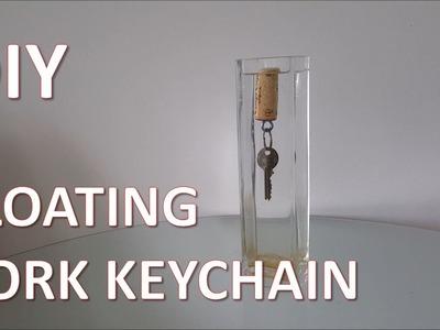 DIY Floating Cork Keychain