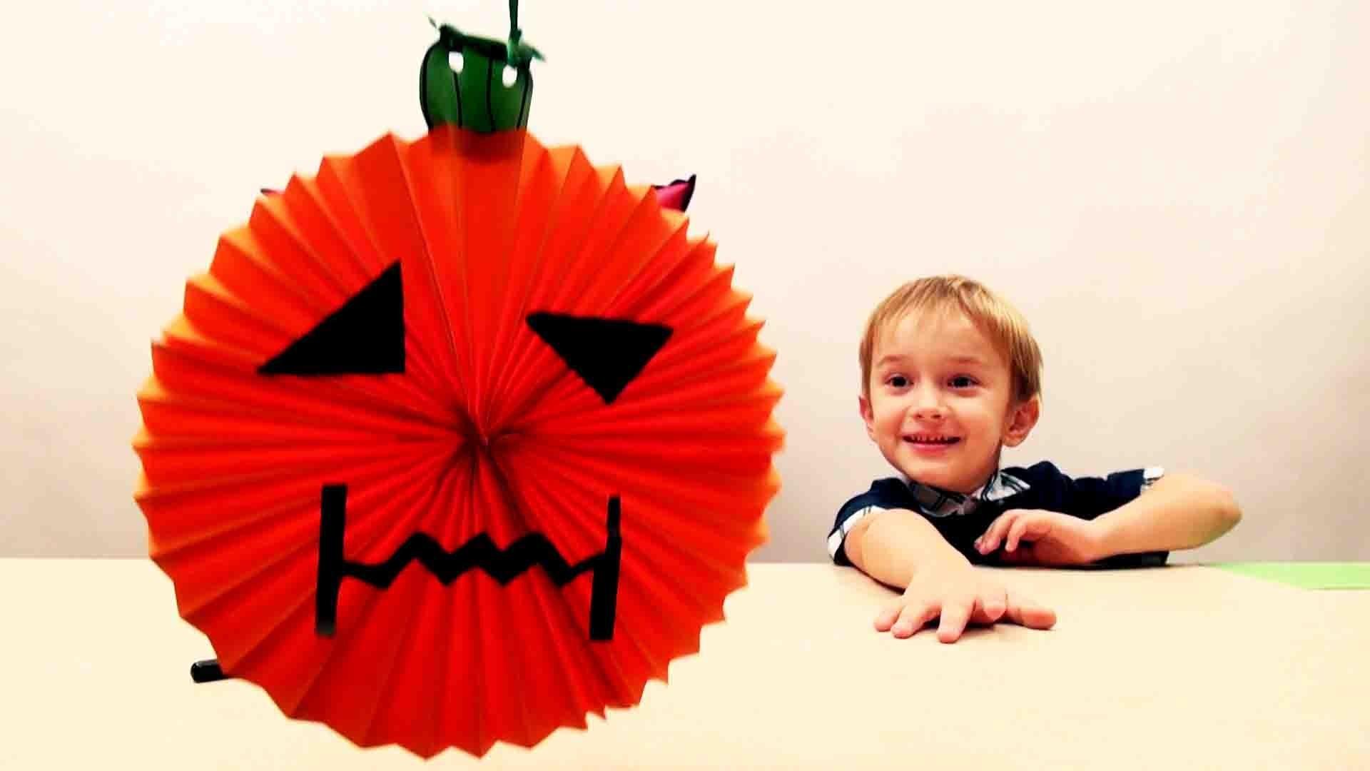 DIY Halloween crafts for kids HALLOWEEN PUMPKIN Easy halloween craft ideas for kids