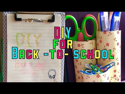 DIY Organizer for Back-to-School | Easy and cheap