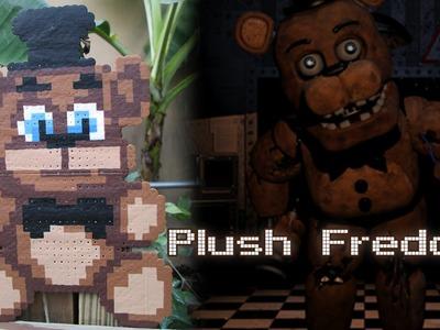 DIY: Plush Freddy from FNAF | Bead Sprites (Perler.Hama Beads)