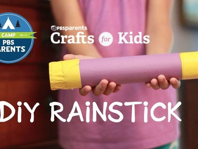 DIY Rainstick | Crafts for Kids| PBS Parents