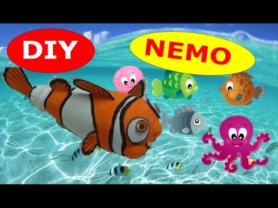 DIY Recycled Bottles Crafts: Nemo out of Plastic Bottles How to