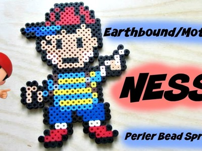 Earthbound.Mother Ness Amiibo Perler Bead Sprite