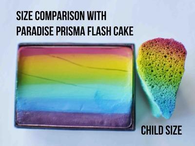 EASIEST Method for Face Painting Rainbow Butterflies with Teardrop Sponge Tutorial