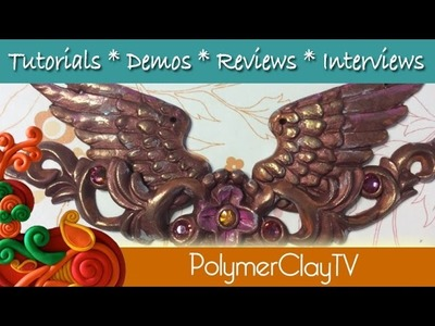 How to combine multiple molds with polymer clay for a unique project