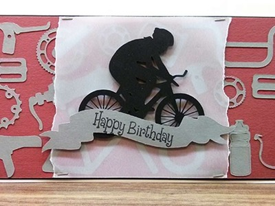 How To Create A Fun Bike Themed Birthday Card - DIY Crafts Tutorial - Guidecentral