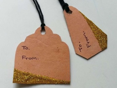 How To Create Easy Leather Gift Tags - DIY Crafts Tutorial - Guidecentral