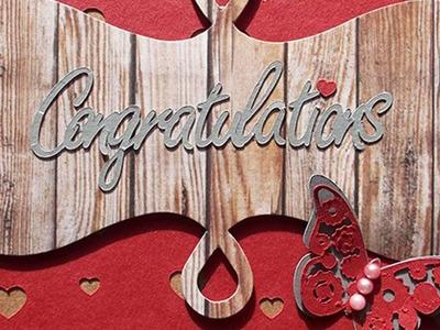 How To Elegant Congratulations Card - DIY Crafts Tutorial - Guidecentral