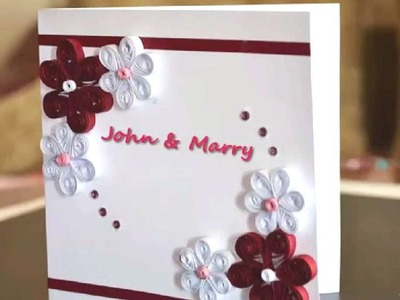 How To Make A Beautiful Quilling Card - DIY Crafts Tutorial - Guidecentral