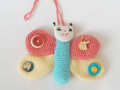 How To Make A Crocheted Children's Toy Butterfly - DIY Crafts Tutorial - Guidecentral
