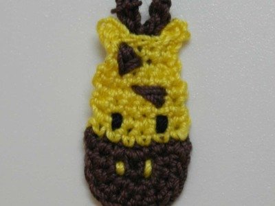 How To Make A Cute Crocheted Giraffe Applique - DIY Crafts Tutorial - Guidecentral