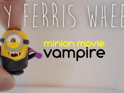 How to make a miniature Vampire minion out of polymer clay (Minions movie)