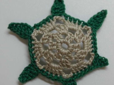 How To Make A Small Crocheted Turtle Applique - DIY Crafts Tutorial - Guidecentral