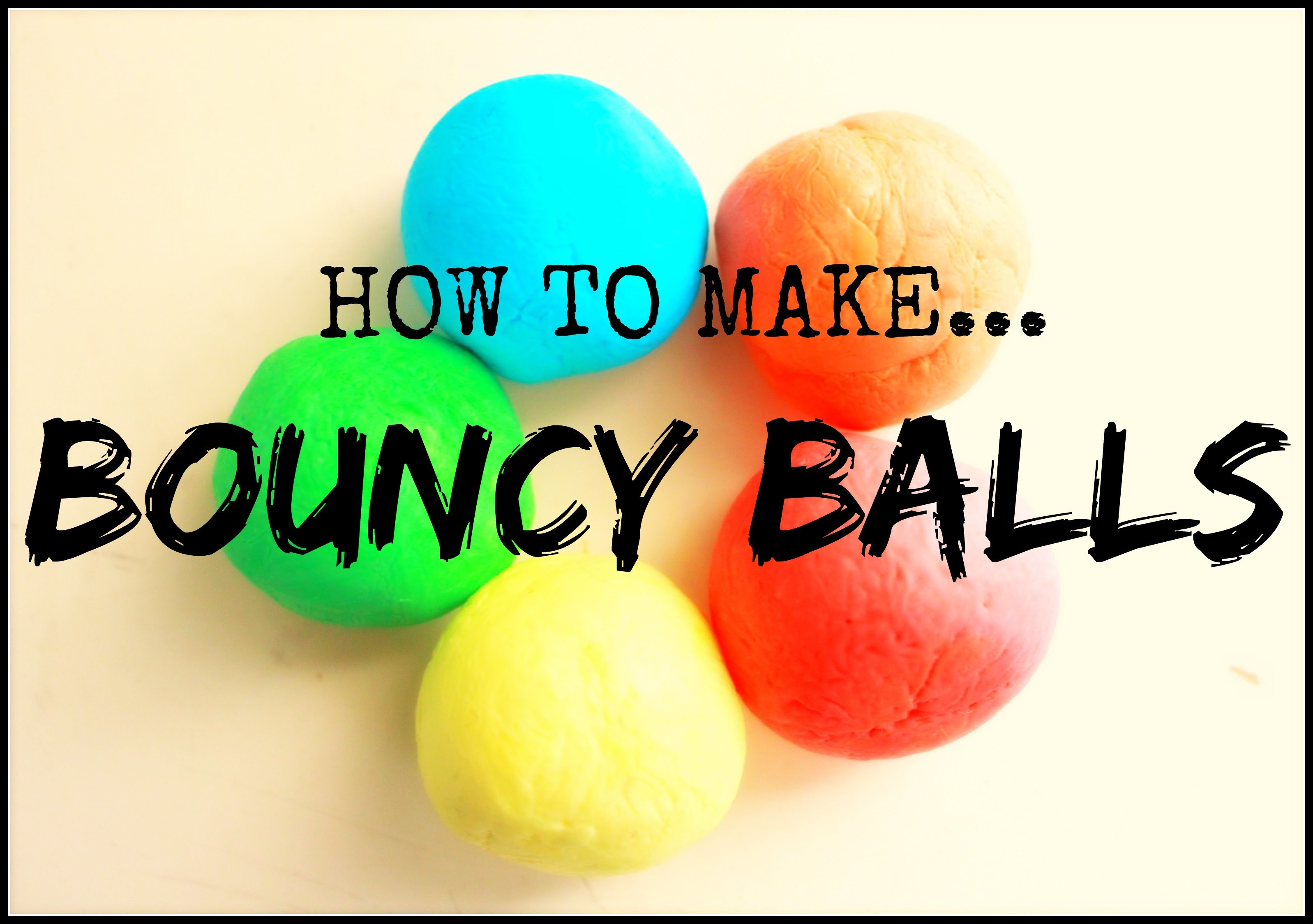 HOW TO MAKE | BOUNCY BALLS | DIY KIDS CRAFTS | ATTIC ANATOMY