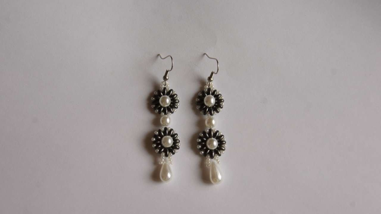 How To Make Earrings With Pearls And Beads - DIY Crafts Tutorial - Guidecentral