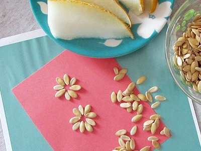 How To Save Melon Seeds For A Decoration - DIY Crafts Tutorial - Guidecentral