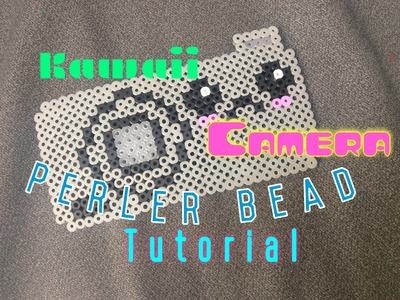 Kawaii Camera Perler Bead Tutorial