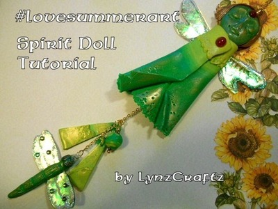 #lovesummerart Polymer Clay Spirit Doll tutorial