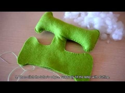 Make a Letter with a Bird Decoration - DIY Crafts - Guidecentral
