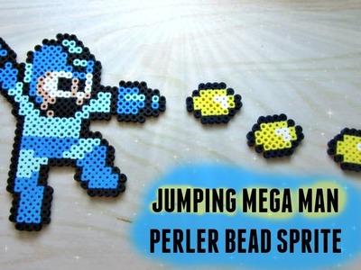 Mega Man vs Ryu: PART 2 MEGA MAN Perler Bead Tutorial