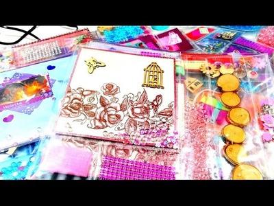 Meine DIY Bastelideen für die Ü-Post im Oktober 2015 - Pocket Letter Violetta Youtube Kinder Video