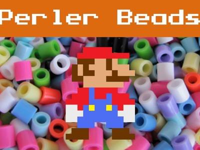 Perler Beads: 8-Bit Mario
