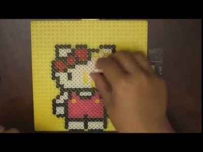 Perler Beads Designs: Hello Kitty