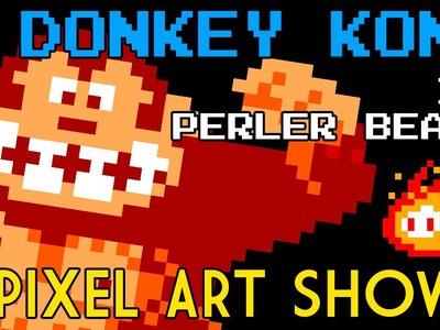 Perler Beads: Donkey Kong - Pixel Art Show