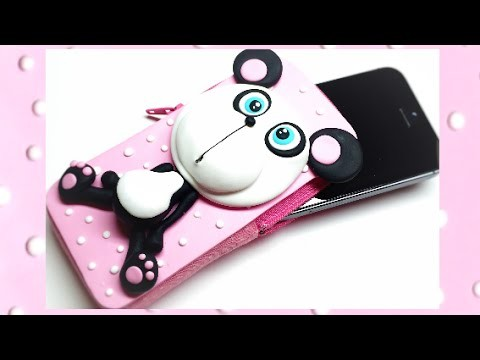 Phone case (Polymer clay and EVA foam)