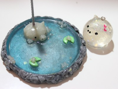 Polymer Clay and Resin Chubble Pond Tutorial ft. ArtResin COUPON!