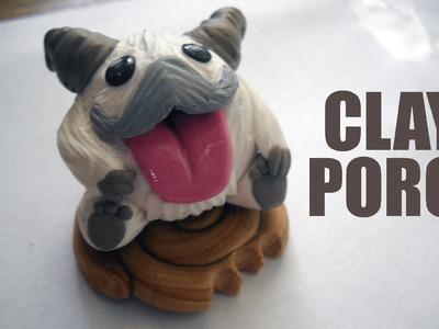 Polymer clay (braum) poro!