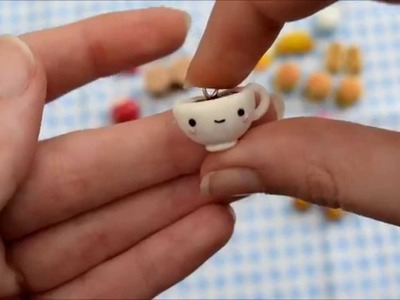 Polymer Clay Charm Update #3 : Junk food and Adventure Time