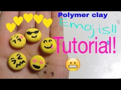 Polymer Clay Emoji Tutorial! | CutiePieKawaii ❤️