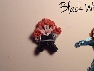 Rainbow Loom Black Widow Charm | Marvel | Tidbits Series