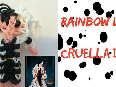 Rainbow Loom Cruella De Vil Doll-How To.Tutorial