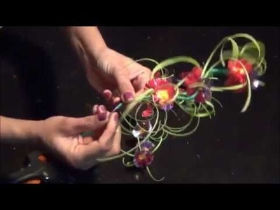 Recycled Plastic: DIY Flower Showpiece Make with Plastic Bottle