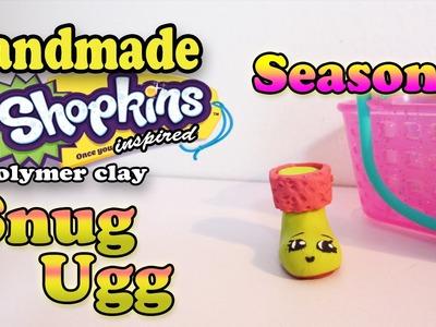 Season 3 Shopkins: How To Make Snug Ugg Polymer Clay Tutorial!