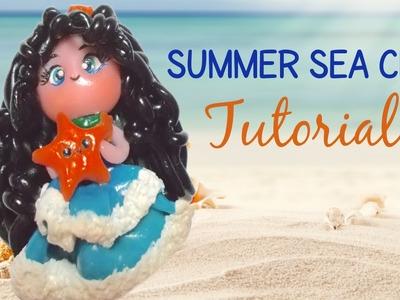 Summer Sea Chibi | Polymer Clay Tutorial