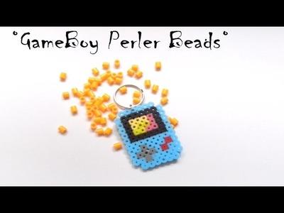 Tutorial!!!!! Llavero GameBoy Perler Beads.Keychain Gameboy
