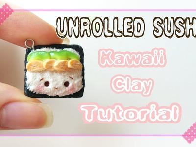 Unrolled Sushi | Polymer Clay Tutorial ♡ BerryWhimsy