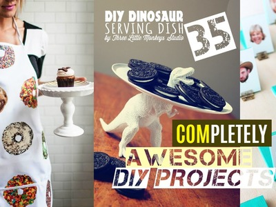 35 Awesome DIY project ideas