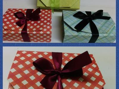 Art and Craft: How to make Gift box