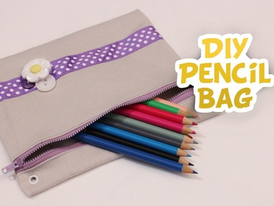 Back-to-School DIY Pencil Bag {EASY}