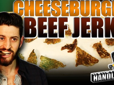 Cheeseburger Beef Jerky - Handle It