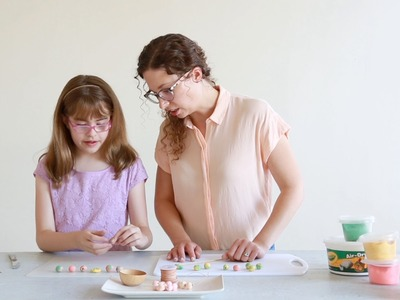 Craft for Kids: Make Crayola® Clay Beads Necklace