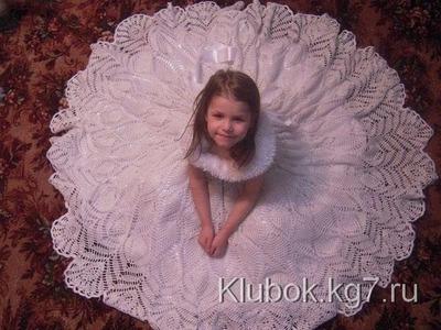 Crochet dress| How to crochet an easy shell stitch baby. girl's dress for beginners 27
