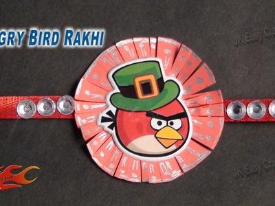 DIY Angry Bird Rakhi DIY  | Raksha Bandhan Craft | How to make | JK Easy Craft 049