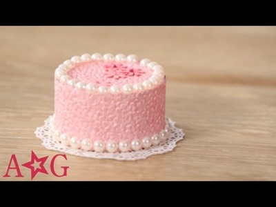 DIY Cardboard Cake Decorating Craft | American Girl