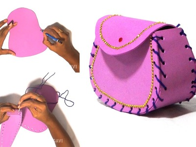 DIY Crafts - Women's Wallet | Bag