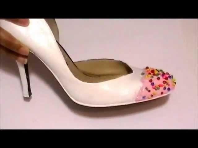 (DIY) Cupcake inspired Shoes